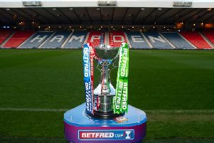 Who will climb the Hampden stairs to lift the League Cup this afternoon?