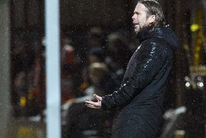 Austin MacPhee will discover this week if he still has a role to play at Hearts following the arrival of new manager Daniel Stendel. Picture: SNS.