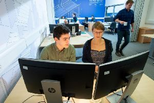 Prior to the full laboratory being installed for the 2020/21 academic year, a pilot lab for student use has been launched this week. Picture: Contributed