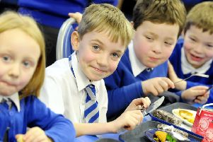 Young school children tend to eat what you ask them to, but teenagers are a very different matter (PIcture: Alan Murray)