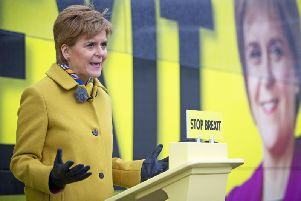 Nicola Sturgeon said the Conservatives could not be trusted on devolution