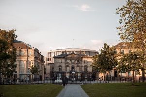 Plans for the Dunard Centre, to be build behind St Andrew Square