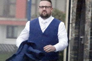 Tomos Rhydian Wilson, 29, went on a drunken rampage at his brother's reception - saying his sibling should never have married her, it is claimed.