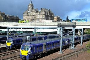 Man reportedly indecently touched himself before exposing himself to woman on train bound for Edinburgh