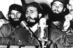 Fidel Castro wasn't in Leith but was still the cause of an argument that ended in punches being thrown. Picture: Keystone/Getty