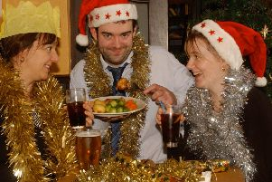 If the in-laws come to stay, they get to wear as much tinsel as they like (Picture: Colin Hattersley)