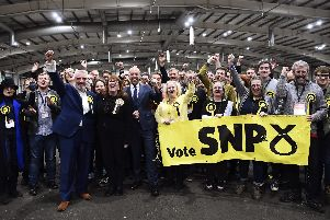SNP clinched seven of nine available seats in Edinburgh and the Lothians