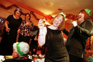 Office parties can be fun, but not necessarily for everyone (Picture: Paul Raeburn)