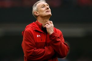 Rob Howley has been given an 18-month ban from all rugby activities, with nine months suspended. Picture: Paul Harding/PA Wire