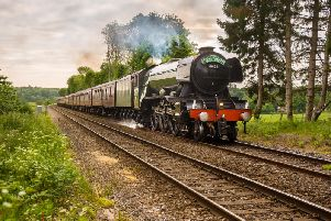 The Flying Scotsman will come to Edinburgh in July (Photo: Steam Dreams Rail Co)