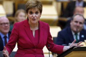 First Minister Nicola Sturgeon will lay out her Scottish independence mandate today