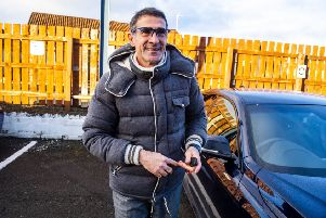 Italian Angelo Alessio leaves Rugby Park following his sacking as Kilmarnock boss, six months after taking over. Picture: Alan Harvey/SNS