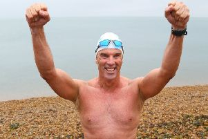 Renowned endurance swimmer and United Nation's Environment Programme (UNEP)'s Patron of the Oceans Lewis Pugh