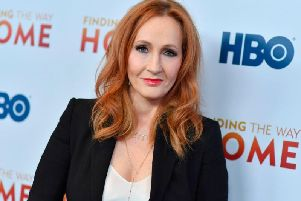 "JK Rowling has defended May Forstater who was refused work after she made tweets that were described as ""offensive an exclusionary"" (Getty Images)"