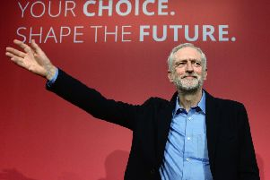 Jeremy Corbyn seemed full of hope in 2015 after he was announced as the Labour Party's leader (Picture: Stefan Rousseau/PA Wire)