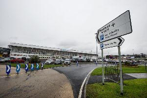 The Ministry of Defence is picking up the fees for US military traffic at Prestwick Airport. Picture: John Devlin