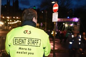 Anger has been aimed at Underbelly after it was revealed residents may require passes to access their homes during Edinburgh's Hogmanay. Picture: TSPL