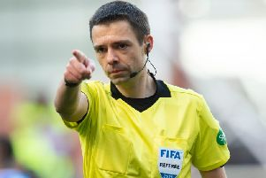 Referee Kevin Clancy will take charge of the Celtic v Rangers clash at Parkhead. Picture: SNS