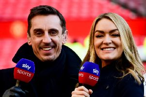Sky Sports pundit Gary Nevile has been outspoken in his condemnation of racism. Picture: Getty