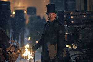 Guy Pearce plays Ebenezer Scrooge in A Christmas Carol (Picture: Robert Viglasky/FX)