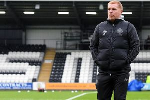 Celtic boss Neil Lennon. Picture: SNS