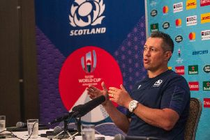 Scotland assistant Matt Taylor is leaving to join Australia. Picture: SNS