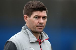 Rangers manager Steven Gerrard said the officials got it 'wildly wrong' in Betfred Cup final. Picture: Andrew Milligan/PA Wire