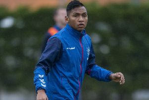 Alfredo Morelos has yet to score against Celtic. Picture: Bill Murray / SNS