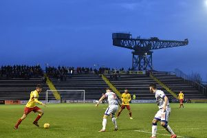 Thistle got the better of hosts Morton at Cappielow. Picture:  Rob Casey / SNS Group