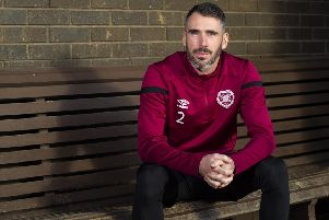 Hearts defender Michael Smith says recent performances are a recipe for disaster. Picture: Ross MacDonald / SNS Group