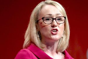 Labour's shadow business secretary, Rebecca Long-Bailey has revealed she's considering standing as the next Labour leader.