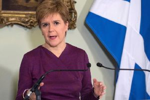 Nicola Sturgeon will press ahead with demands for a second independence referendum in 2020.