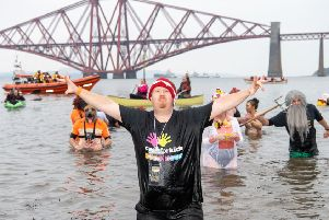 Underbelly trumpeting the fact that the Loony Dook was 'sold out' was the final straw for many Edinburgh residents. Picture: Ian Georgeson
