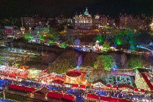Princes Street Gardens was turned into the shows at Burntisland for the festive season ' it's time for this madness to stop and make the capital the go-to destination for Edinburgh's Notmanay. Picture: Ian Georgeson