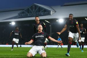 Charlie Adam was pilloried for his celebration after scoring for Reading against Fulham. Picture: Jordan Mansfield/Getty Images