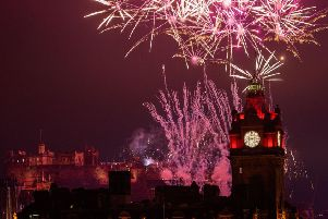 Edinburgh's Hogmanay celebrations have helped put the city on the map. (Picture: Ian Georgeson)