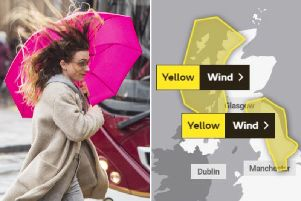 Scotland weather: Yellow weather warning issued as high-speed winds set to batter parts of country