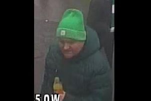 Police believe this man could help with their investigation. Picture: Police Scotland