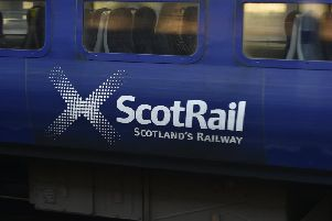 ScotRail said they were working closely with emergency services.