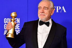 Brian Cox won the Golden Globe for best male actor in a television series - drama (Getty Images)