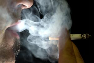 There has been a fall in the number of smokers trying to quit. Picture: TSPL