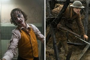The Joker and 1917 are up for Best film