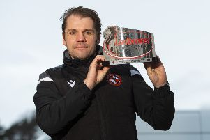 Robbie Neilson has been named manager of the month for the third time this season after guiding Dundee United to a 14-point lead at the top of the Championship. Picture: Ross MacDonald/SNS