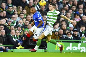 Ryan Christie was banned for grabbing Alfredo Morelos in the groin. Picture: Rob Casey / SNS