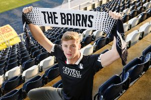 Ex-Motherwell, Brighton and Partick Thistle defender Ben Hall has joined ther Bairns.  Picture: Michael Gillen.