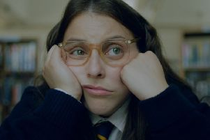 Beanie Feldstein stars as Johanna Morrigan in the movie based on Caitlin Moran's youth, which will receive its UK premiere. Picture: Contributed
