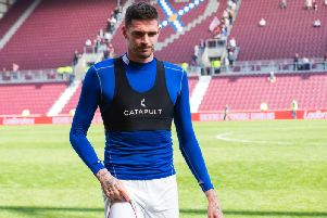 Kyle Lafferty is a free agent following a spell in Norway. Picture: SNS