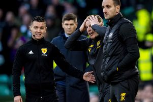 Neil Lennon admits his emotions are still raw following Celtic's painful defeat at the hands of Steven Gerrard's Rangers. Picture: Craig Williamson/SNS