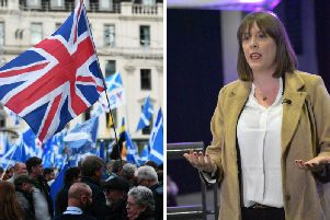 Jess Phillips said she was opposed to an IndyRef2 and instead wanted to discuss issues 'relevant to the lives of people in Scotland'