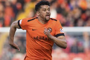 Osman Sow is back at Dundee United after a loan spell at Kilmarnock. Picture: Craig Foy/SNS